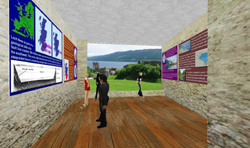 Loch Ness Exhibition in Second Life