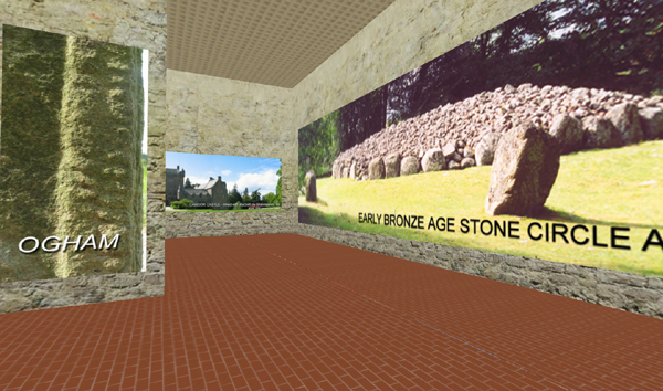Story of Scotland Exhibition in Second Life