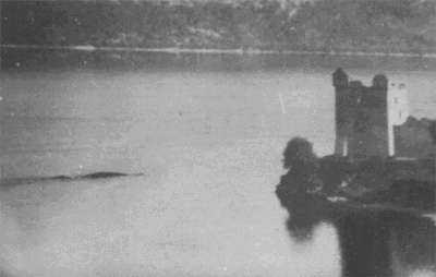 MacNab Picture. One of the famous Loch Ness monster fakes.